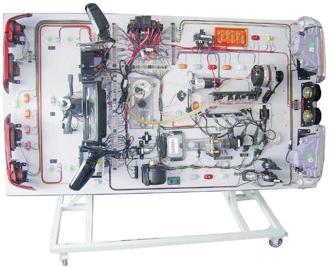 桑塔纳3000型全车电路电器实验台