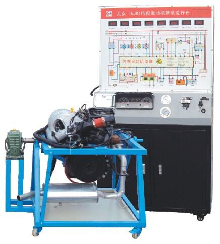 桑塔纳2000发动机与蓄电池的电路图