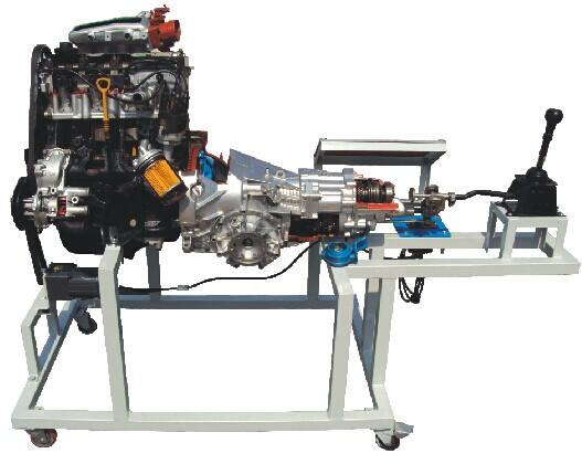 hy-719b桑塔纳2000发动机变速器解剖运行台