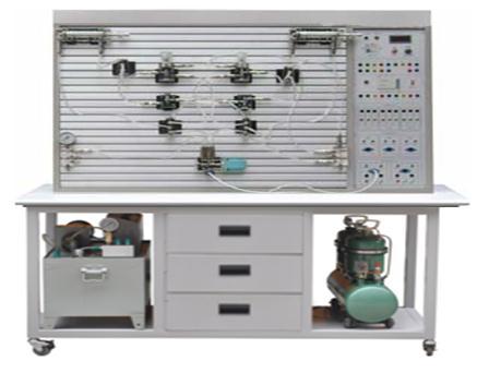 hyy-19c透明液压与气压传动plc综合实训装置图片