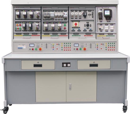 能完成机床线路,电机控制线路,照明配电的模拟操作,安装调试的综合